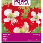 Poppies of the world - Papaver Paeoniflorum Dänische Fahne