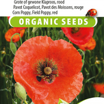 Mohn Red Corn Poppy EKO